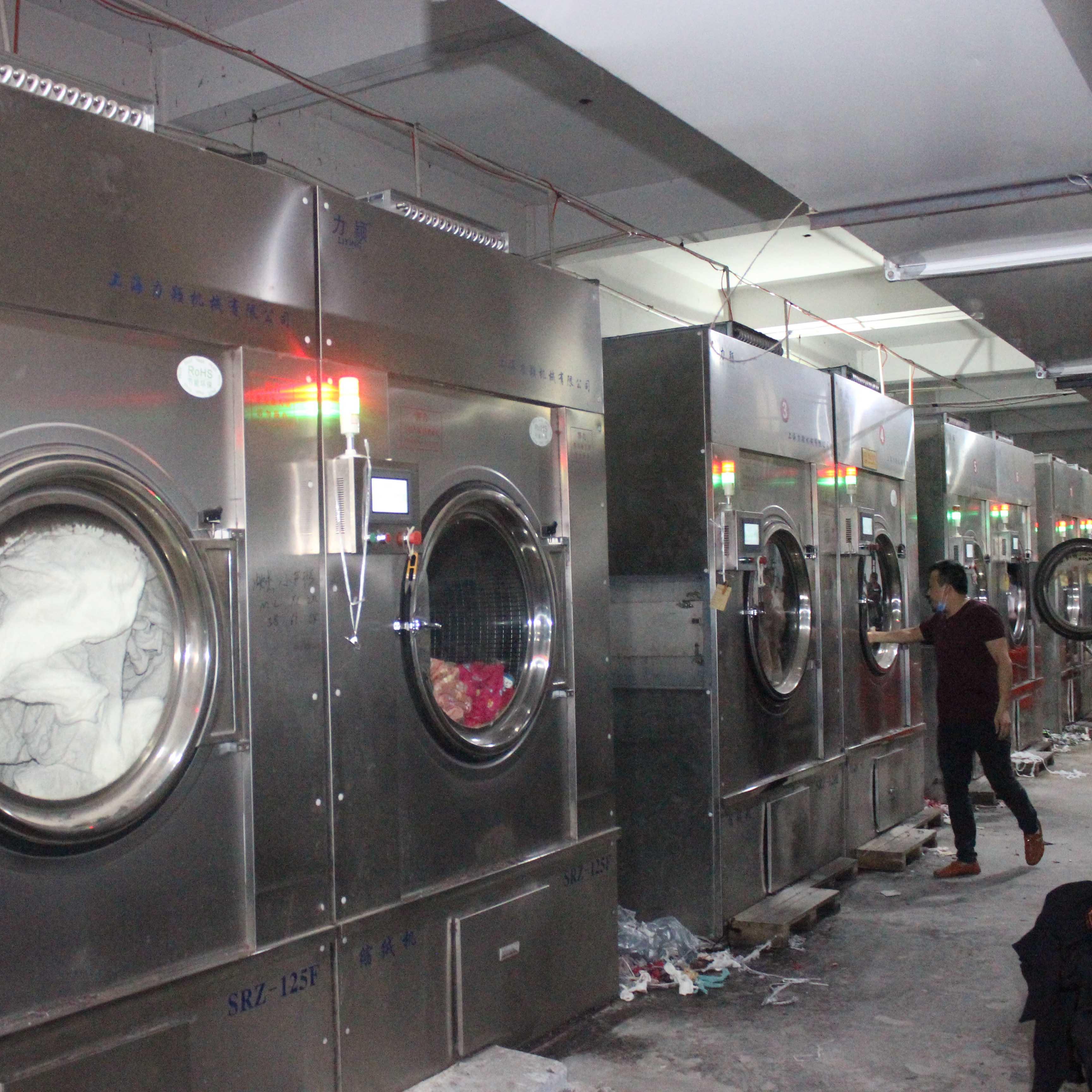 烟台某某服装缩绒厂_工业专用洗衣机,工业水洗机,工业大型洗衣机,工业洗涤机械