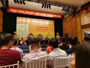 力颖总经理刘永富先生出席越南河内国际纺织博览会