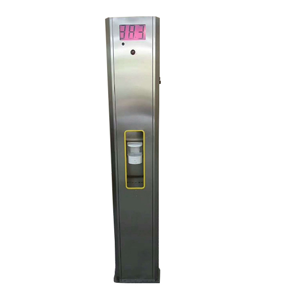 测温消毒柱